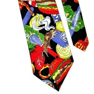 Junk Food Necktie